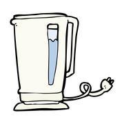 Stock Illustration of cartoon kettle