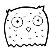 Stock Illustration of cartoon owl