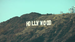 Famous Hollywood landmark in Los Angeles, California on CIRCA 2014. Stock Footage