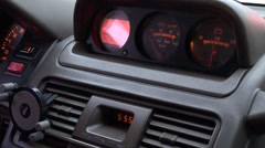 Car Dashboard, Automobiles, Control Panel - stock footage