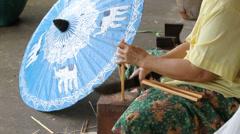 Umbrella Stock Footage