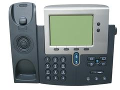 Modern digital ip phone Stock Photos