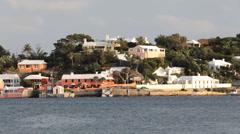 Paget Parish Bermuda - stock footage