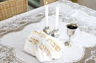 Stock Photo of shabbat - jewish holiday