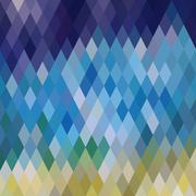 Stock Illustration of pattern of geometric shapes, rhombic.texture with flow of spectrum effect.geo