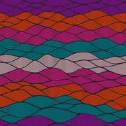 Waves pattern.templates web page design.copy that square to the side and you' Stock Illustration