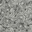 Stock Illustration of raster seamless texture with abstract waves. endless background. ethnic seaml