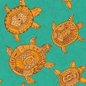Stock Illustration of seamless pattern with turtles. seamless pattern can be used for wallpaper, pa