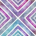 Stock Illustration of watercolor retro seamless pattern with squares, abstract hand drawn backdrop,