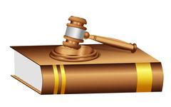 Tuomari nuija nuija on varaa Piirros