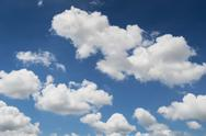 Stock Photo of cloud and blue sky