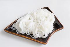 Rice noodle thai food of thailand Stock Photos