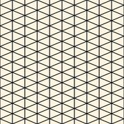 seamless texture with triangles, mosaic endless pattern.  seamless pattern ca - stock illustration