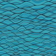 Seamless waves texture,wavy background.copy that square to the side and you'l Stock Illustration