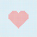 Stock Illustration of vector dotted heart