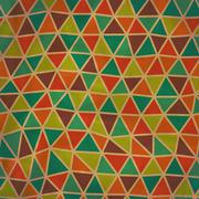 Seamless texture with triangles, mosaic endless pattern. seamless pattern can Stock Illustration
