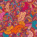 Stock Illustration of ornamental lace pattern, background with many details, looks like crocheting