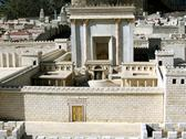 Stock Photo of second temple. ancient jerusalem