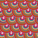 Stock Illustration of seamless japanese pattern, colorful decorative seamless