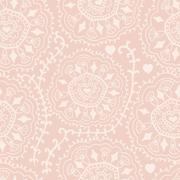 Retro background, lace seamless pattern, ornate endless texture Stock Illustration