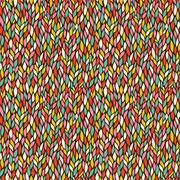 Seamless abstract hand-drawn pattern, endless modern background Stock Illustration