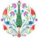 Stock Illustration of oriental ottoman design degrade