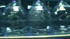 plastic bottles - stock footage