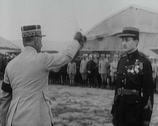 Stock Video Footage of WW1- Decorations Of French Aces 01a