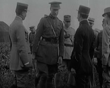 WW1 - Decorations Of French and German Aces 01 - stock footage