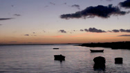 Stock Video Footage of Sunset Ria Formosa-Olhao. Algarve. Portugal