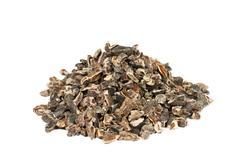 Raw cacao nibs Stock Photos