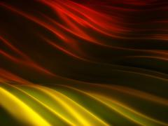 backgrounds collection - red and yellow folded surface - stock illustration