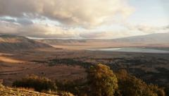 Time lapse in Ngorongoro Stock Footage