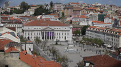 Lisbon city Portugal Stock Footage