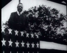 WW1 - Theodore Roosevelt Speech 01 Stock Footage