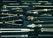 Stock Photo of drawing instruments