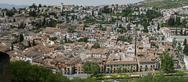 Stock Photo of panorama of the city of granada, spain