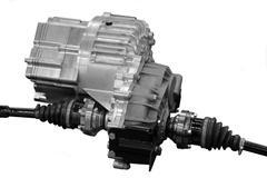 transmission box - stock photo