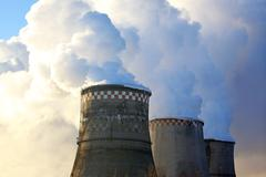 Stock Photo of cooling towers