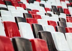 stadium tribune - stock photo