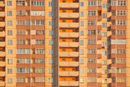 Stock Photo of habitation orange block
