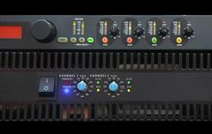 amplifier - stock photo