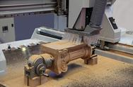 Stock Photo of woodworking equipment