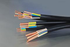 Copper cables Stock Photos