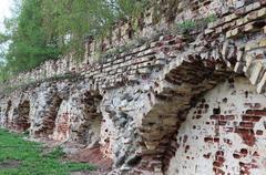 Wall of bricks Stock Photos
