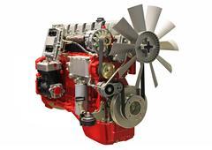 Stock Photo of diesel engine