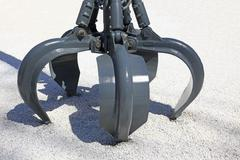 Hydraulic claw Stock Photos
