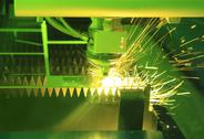 Stock Photo of industrial laser cutter