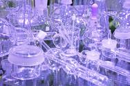 Stock Photo of laboratory glassware