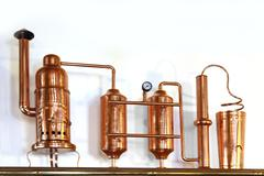 Alembic copper Stock Photos